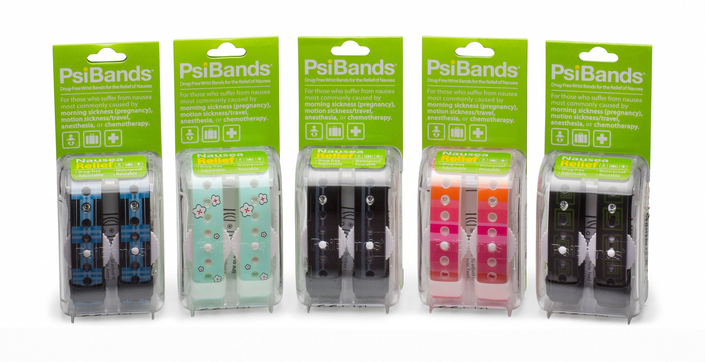 Psi Bands in a Pack