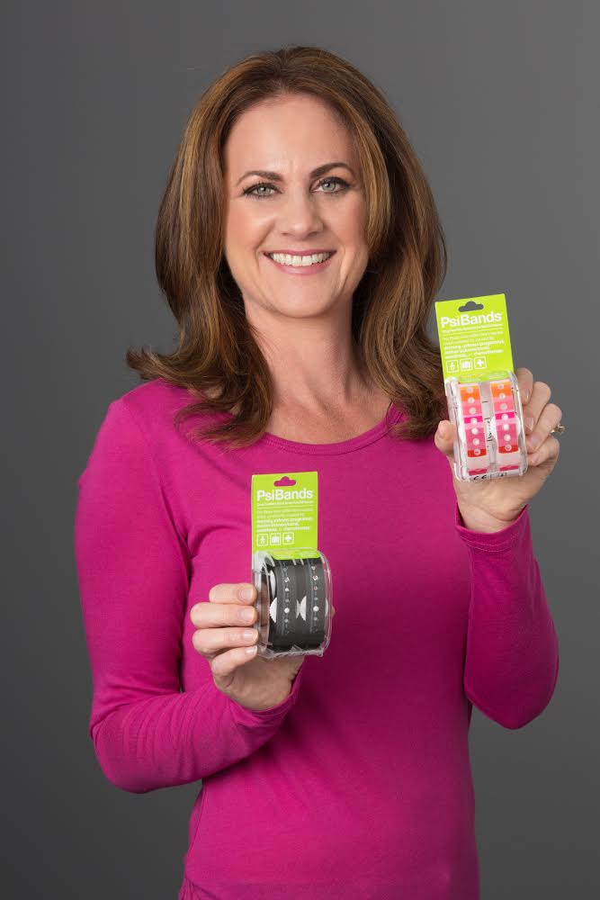 Romy Taormina - Nausea Relief Chief and Founder of Psi Bands with Psi Bands